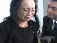 【高齢熟女動画】70歳過ぎのおばさんが若々しく勃起する肉棒を見て乙女のように目を輝かせ淫らになる