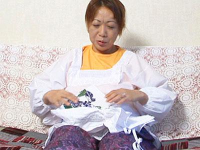 【無修正熟女】40代後半の専業主婦の大原安子さんがハメ撮りに初挑戦!見た目に反して巨乳のドスケベボディは必見