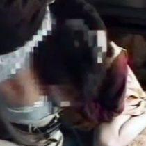 【近親相姦】ホームビデオで撮影された母と息子の母子相姦という本物らしき映像を入手