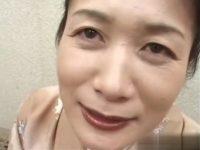 【無修正】51歳の和服美人熟女がマンネリ旦那に内緒でAV出演!若い男優の激しいピストンで乱れまくる 熟女動画