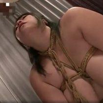 ムチムチでだらしないぽっちゃり体型の爆乳ドM熟女を緊縛イラマチオ調教!【響りん】