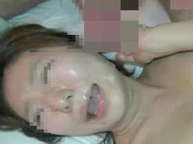 まだ張りのある素人四十路奥さんのエロボディをハメ撮りセックスで顔射フィニッシュ 熟女動画