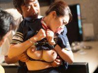 国内線の美人妻CAが行き先の南国でレイプされてしまい性調教 小早川怜子 熟女動画