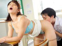 男子校で落ちこぼれの生徒を誘惑して筆おろしセックスする淫乱熟女教師 大島優香 熟女動画