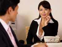夫との夜の営みが最近ない欲求不満な会社勤めをしている女上司が若い独身の部下を誘惑して… 三浦恵理子 熟女動画